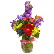 Spring bouquet in Quiché