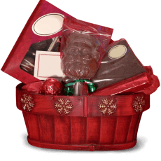 Chocolate basket in Armed Forces Pacific