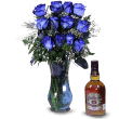 Blue Roses And Chivas Regal Whiskey in Puerto Rico
