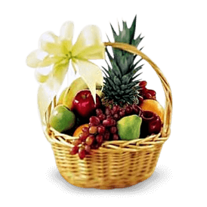 Fruit basket in La Paz (Peace)
