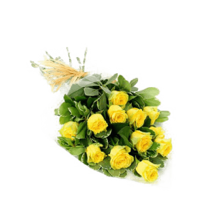 Bouquet of yellow roses in Acre