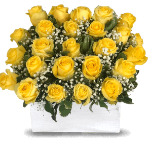 Basket of Yellow Roses ở Cộng ho